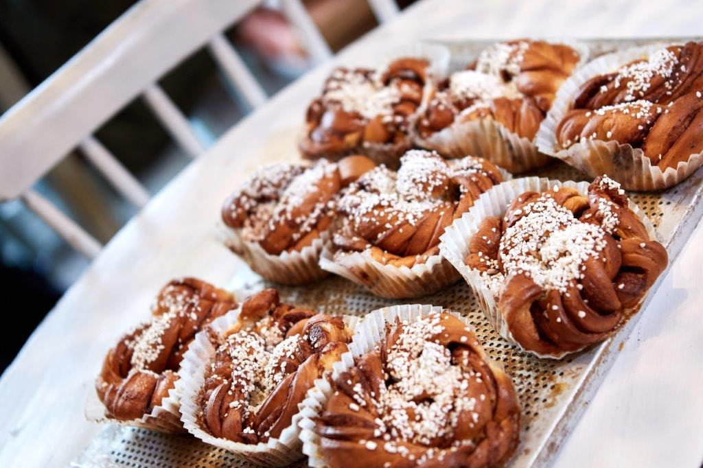 Swedish cinnamon buns. In Norsesund you can learn how to bake cinnamonbuns with Meet the Locals.