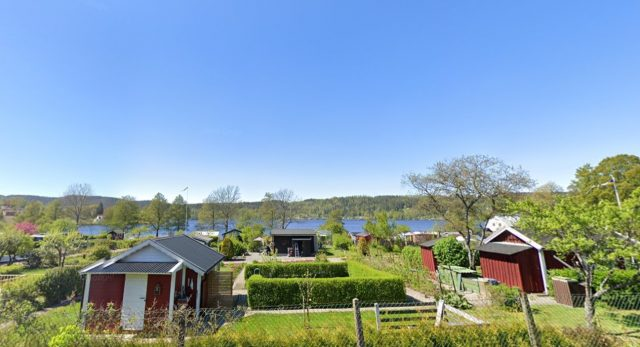 Allotment garden in Borås. Here you can come for a private visit with the koncept Meet the Locals