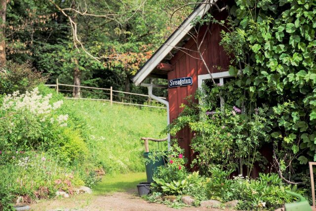 Swedish cottage from the 1890s in Rävlanda. Here you can meet a gardener in her own private garden with the concept Meet the Locals