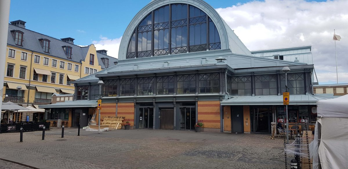 """The market, """"Saluhallen"""" in Gothenburg. Learn more about the history with a Local guide from Meet the Locals."""