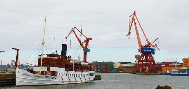 Göteborg hamn båten Bohuslän. Guidad tur med en Local i Göteborg med Meet the Locals